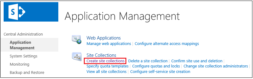 Create site collection navigation