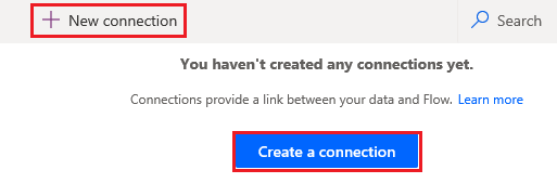 create new connection