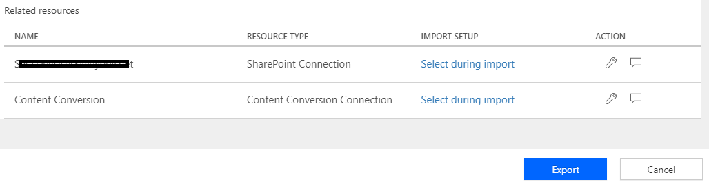 related resources in ms flow