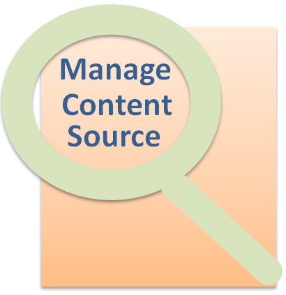 Search Service Application - Manage Content Sources