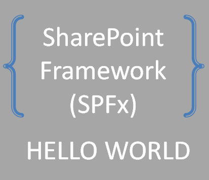 SharePoint Framework - First Client-side web part
